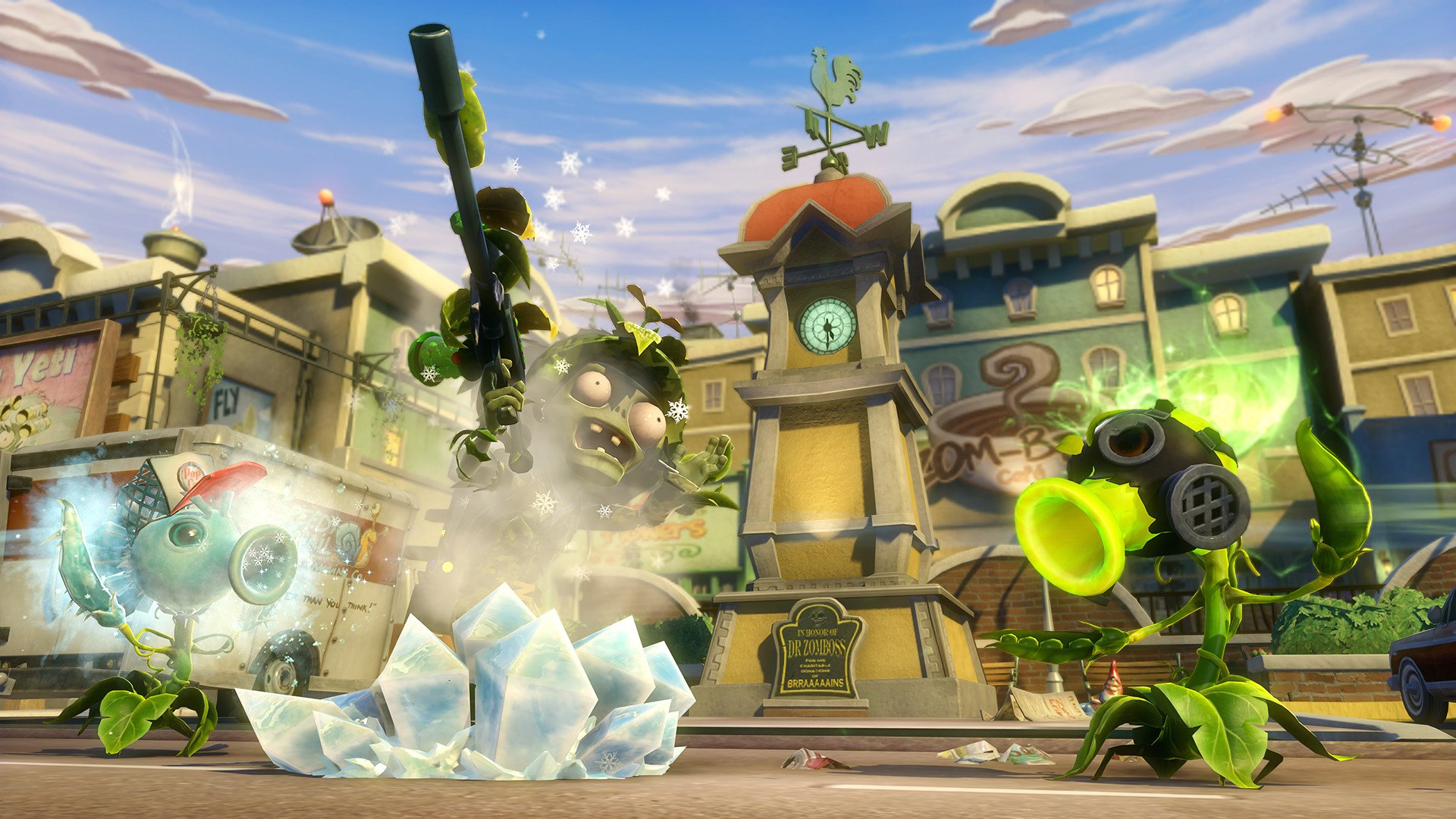 Plants vs zombies garden warfare para xbox one 3djuegos - Free plants vs zombies garden warfare ...