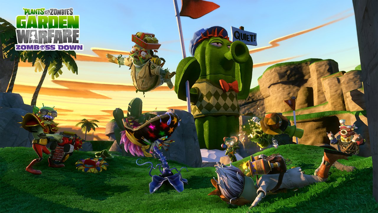 Plants Vs Zombies Garden Warfare Para Xbox 360 3djuegos