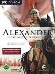 Car�tula oficial de Alexander - the Heroes Hour PC