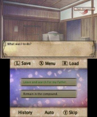 Hakuoki Memories of the Shinsengumi (Nintendo 3DS)