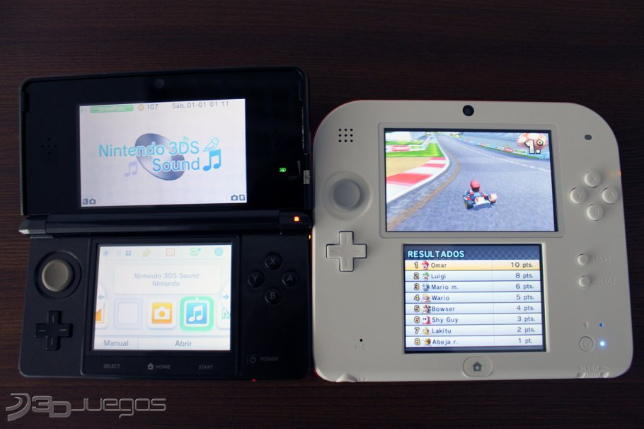 Nintendo 2ds Para 3ds 3djuegos