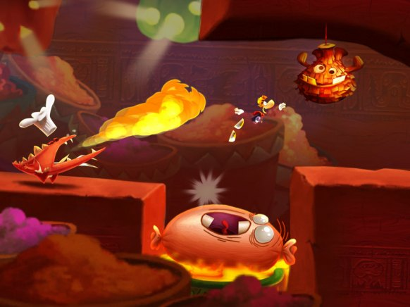 Rayman Fiesta Run (iPhone)