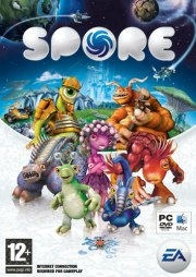 Car�tula oficial de Spore PC