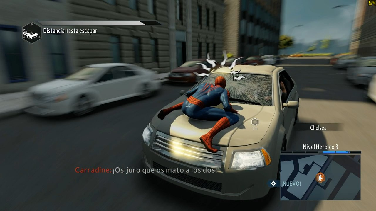 Anlisis de The Amazing SpiderMan 2 para PS3  3DJuegos