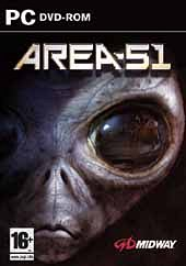 Cartula oficial de Area 51 PC