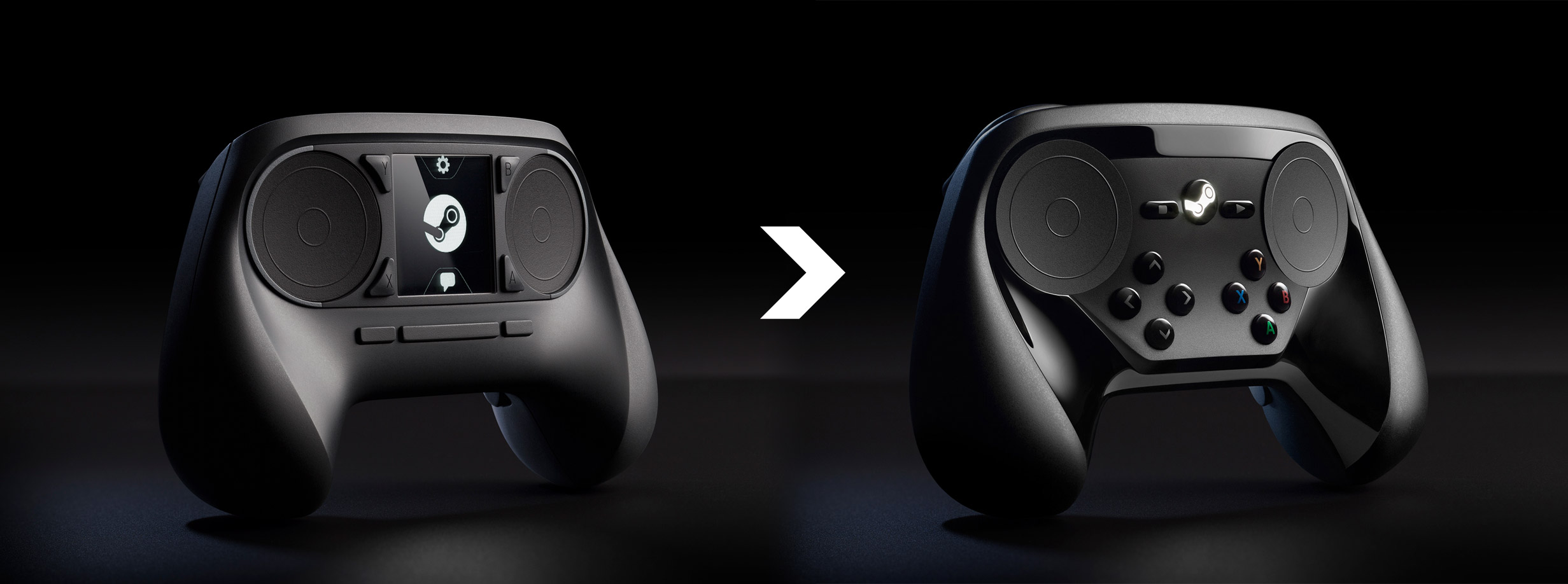 Nuevo diseño del Steam Controller, Valve
