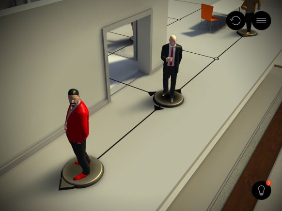 Hitman Go (iPhone)