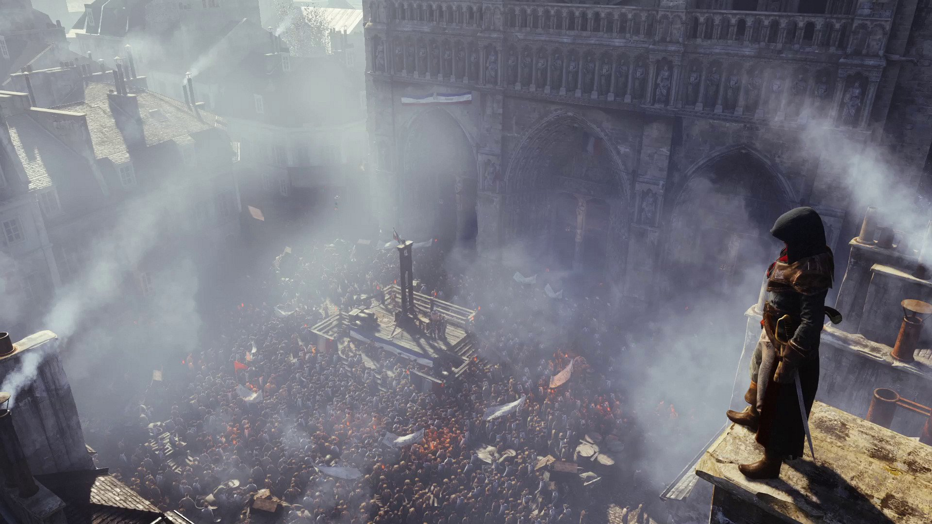assassin  039 s creed unity 2492316 با اولین تصاویر از Assassin's Creed : Unity همراه شوید : بازی تنها بر روی نسل هشتم منتشر خواهد شد