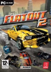 Car�tula oficial de FlatOut 2 PC