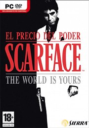 Cartula oficial de Scarface: the World is Yours PC