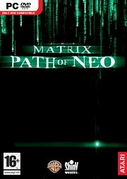 Car�tula oficial de The Matrix: Path of Neo PC
