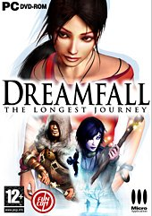 Car�tula oficial de Dreamfall: The Longest Journey PC