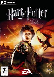 Cartula oficial de Harry Potter y el C&aacute;liz de Fuego PC