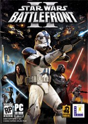 Cartula oficial de Star Wars Battlefront 2 PC