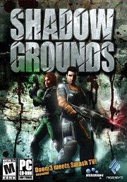 Car�tula oficial de Shadowgrounds PC