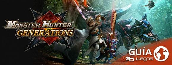 Guía Monster Hunter: Generations