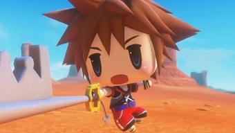 Video World of Final Fantasy, Presentación de Sora