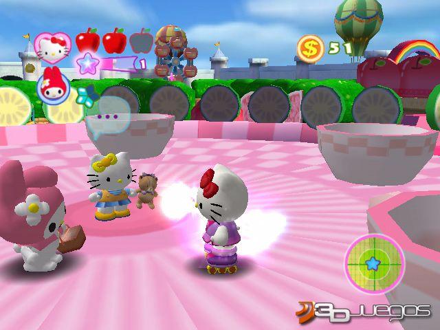 Hello kitty roller rescue para pc 3djuegos for Juegos de hello kitty jardin