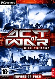 Car�tula oficial de Act of War: High Treason PC