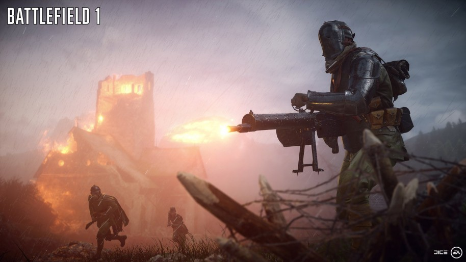Battlefield 1: Caballos, arsenal, parajes, IGM