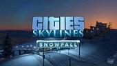 Video Cities Skylines - Snowfall - Tráiler