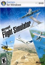 Car�tula oficial de Microsoft Flight Simulator X PC