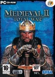 Carátula oficial de Medieval 2: Total War PC