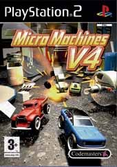 Car�tula oficial de Micro Machines V4 PC