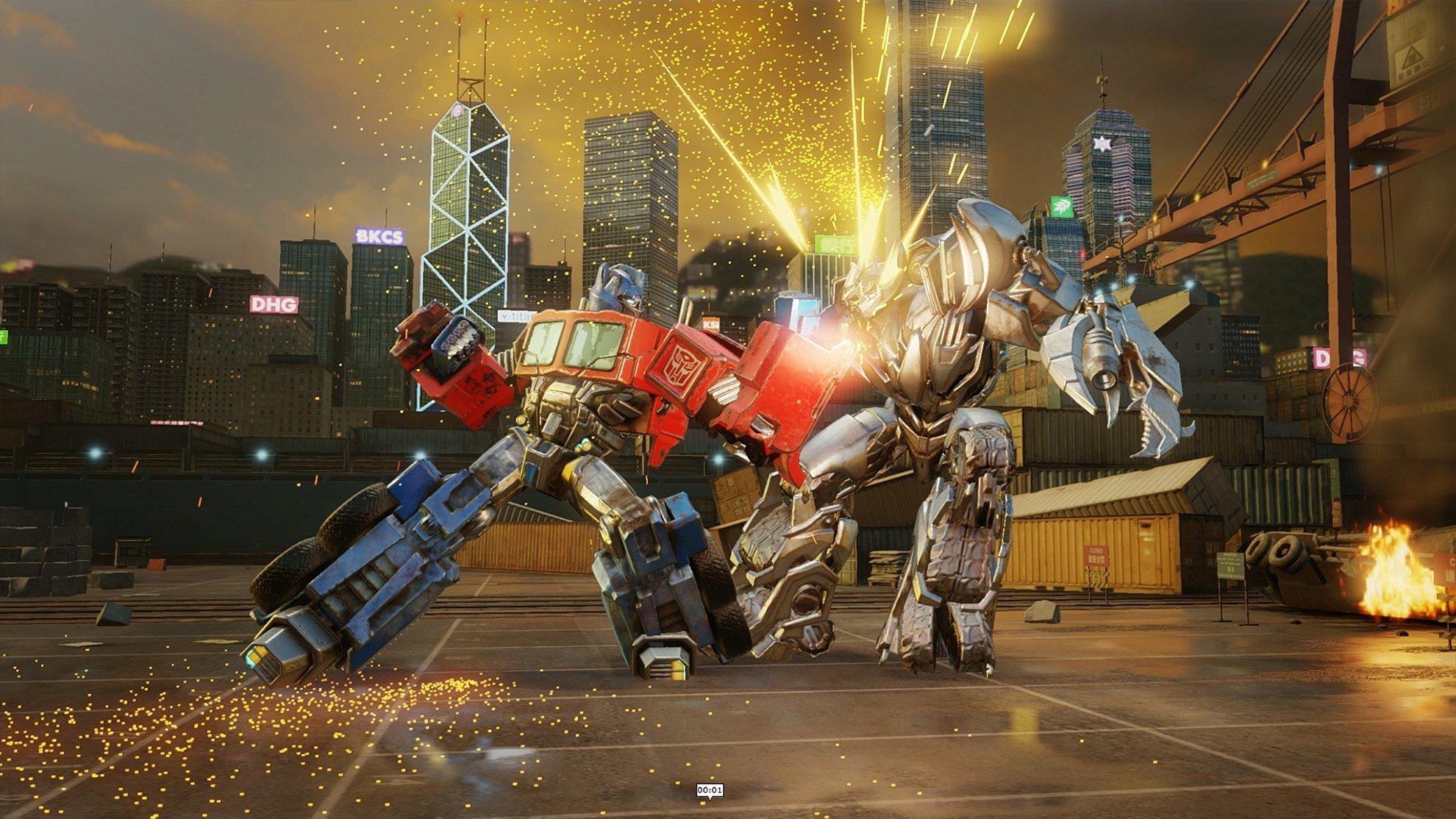 Transformers Forged to Fight el nuevo juego de la saga para mviles