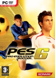 Car�tula oficial de Pro Evolution Soccer 6 PC