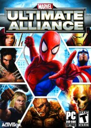 Car�tula oficial de Marvel: Ultimate Alliance PC