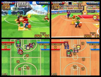 descargar mario slam basketball nds