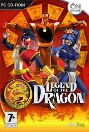 Car�tula oficial de La leyenda del Dragón PC