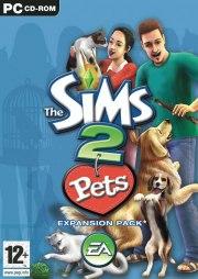 Car�tula oficial de Los Sims 2 Mascotas PC
