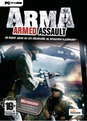 Cartula oficial de ArmA: Armed Assault PC