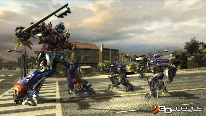 Transformers The Game Xbox 360 The Game Xbox 360