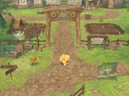 Chocobo's Dungeon (Nintendo Wii)