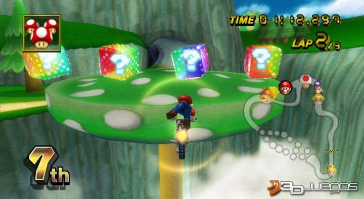 Juegos Mario Kart Wii Imagen Mario Kart Wii