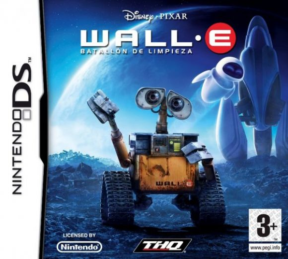 Carátula oficial de Wall·E - DS - 3DJuegos