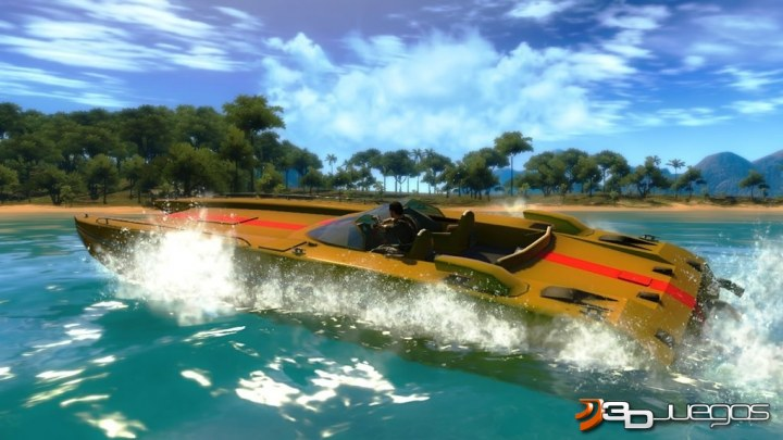 Just Cause 2 - Avance