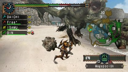 Monster Hunter Freedom Unite: Impresiones multijugador