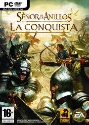 Car�tula oficial de El Señor de los Anillos: Conquista PC