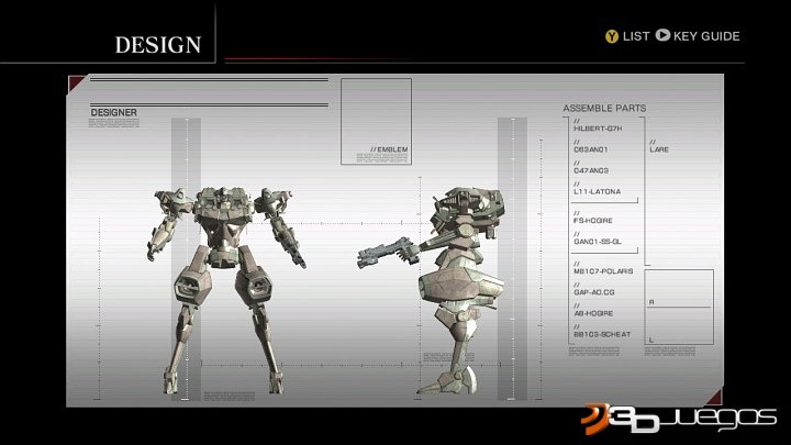 Armored Core for Answer - An�lisis