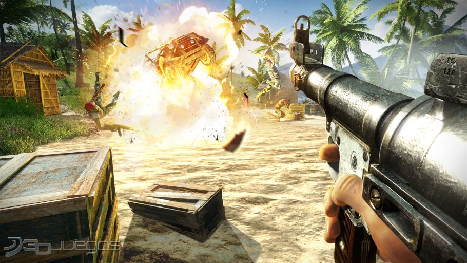Far Cry 3 - Entrevista Mark Thompson