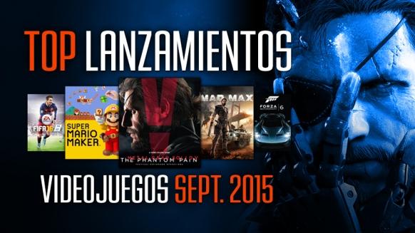 Reportaje de Lanzamientos: Septiembre 2015
