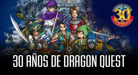 Reportaje de 30 años de Dragon Quest