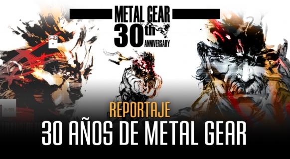 Reportaje de 30 Años de Metal Gear