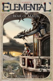 Cartula oficial de Elemental: War of Magic PC
