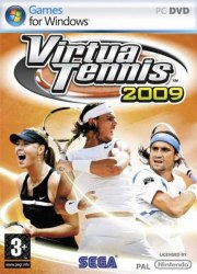 Car�tula oficial de Virtua Tennis 2009 PC