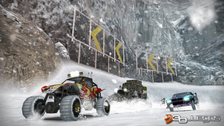 MotorStorm Arctic Edge - Impresiones E3 09